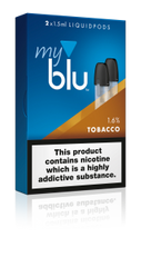 TOBACCO E LIQUID POD BY MYBLU