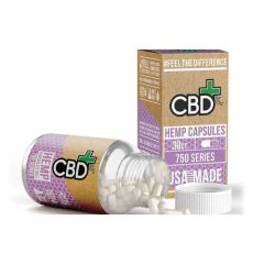 CBDFX HEMP CAPSULES (JAR OF 30)