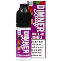 BLACKBERRY CRUMBLE ELIQUID BY DINNER LADY 50/50
