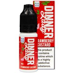 STRAWBERRY CUSTARD ELIQUID BY DINNER LADY 50/50