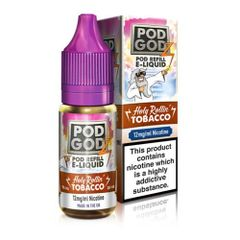 HOLY ROLLIN' TOBACCO ELIQUID BY POD GODZ
