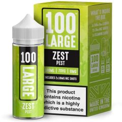 ZEST PEST ELIQUID BY 100 LARGE 100ML