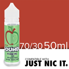 APPLE KIWI ROUNDS BY ROUNDS E-LIQUID