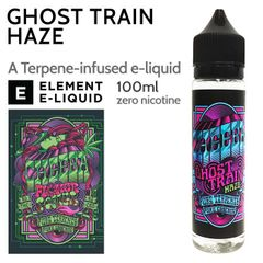 GHOST TRAIN HAZE ELIQUID BY CHEEBA 100ML