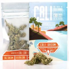 CALI DREAM 1G - REAL HEMP FLOWER BUDS 7% CBD