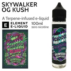 SKYWALKER OG KUSH ELIQUID BY CHEEBA 100ML