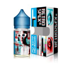 LEFT RETRO BUBBLEGUM ELIQUID BY RETROSPEX 25ML