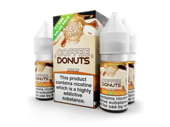 COFFEE AND DONUTS ELIQUID BY MEGA ELIQUID