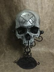 Agents of Shield Theme Real Human Skull Replica Carved by Zane Wylie