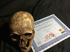 PRODUCTION USED - Thor Warrior Skull Preacher Season 2 Episode 2 Voodoo Shop Scene