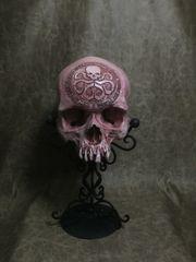 Hail Hydra Real Human Skull Replica Carved by Zane Wylie