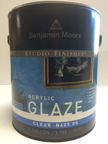 BENJAMIN MOORE STUDIO LATEX ACRYLIC GLAZE GALLON 4050001