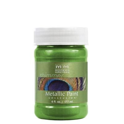 MODERN MASTERS GREEN APPLE METALLIC 6OZ ME70606