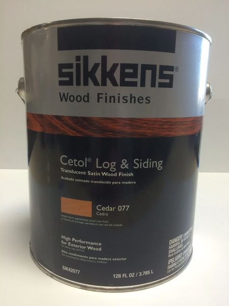 SIKKENS PROLUXE CETOL LOG & SIDING 077 CEDAR EXTERIOR STAIN GALLON