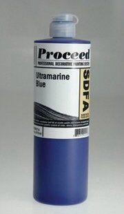 GOLDEN PROCEED SLOW DRY FLUID ACRYLIC ULTRAMARINE BLUE 16OZ