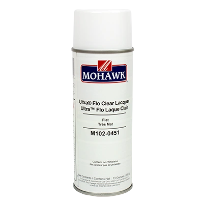 MOHAWK ULTRA FLO CLEAR AEROSOL LACQUER CAN M102-XXXX