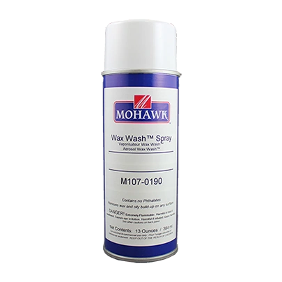 MOHAWK WAX WASH REMOVER AEROSOL CAN M107-0190