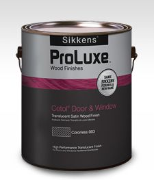 SIKKENS PROLUXE CETOL DOOR & WINDOW SATIN CLEAR GALLON