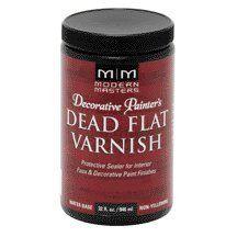 MODERN MASTERS DEAD FLAT VARNISH INTERIOR QT DP60932