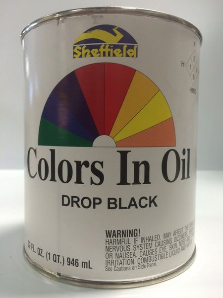 SHEFFIELD BRONZE COLORS IN OIL QT DROP BLACK