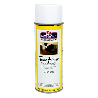 MOHAWK TONE FINISH FURNITURE WAX WITH LEMON OIL AEROSOL CAN M107-0200