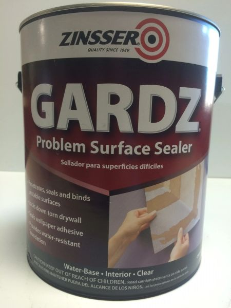 ZINSSER GARDZ DRYWALL SEALER CLEAR GALLON 02301