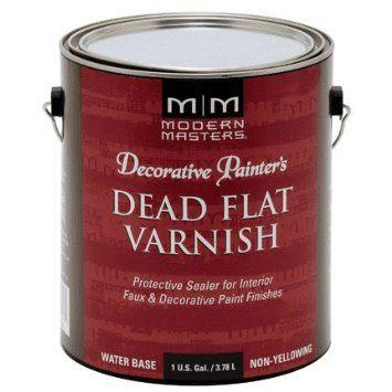 MODERN MASTERS DEAD FLAT VARNISH INTERIOR GALLON DP609GAL