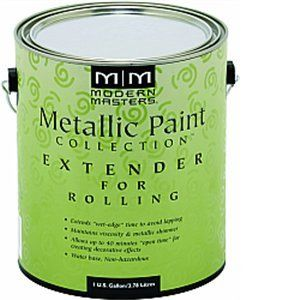 MODERN MASTERS METALLIC PAINT ROLLING EXTENDER GALLON ME651GAL
