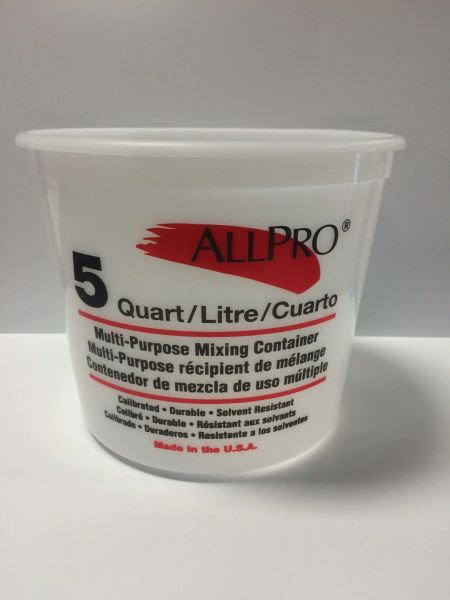 ALL PRO MIX N MEASURE 5 QT WITH LID