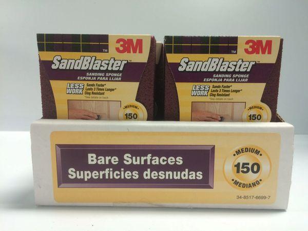 3M SANDBLASTER SANDING SPONGE 150 GRIT 20908-150