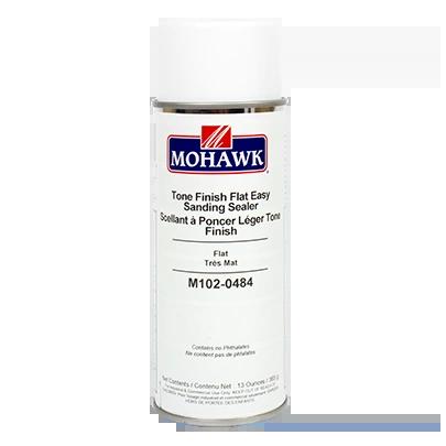 MOHAWK TONE FINISH FLAT EASY SANDING SEALER CLEAR AEROSOL CAN M102-0484