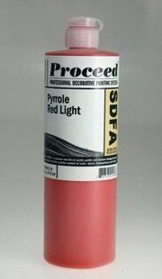 GOLDEN PROCEED SLOW DRY FLUID ACRYLIC PYRROLE RED LIGHT 16OZ