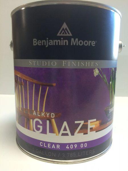 BENJAMIN MOORE STUDIO ALKYD GLAZE GALLON 4090001