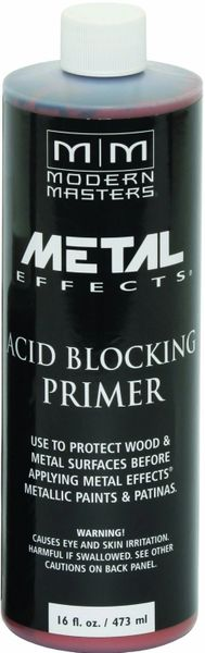 MODERN MASTERS ACID BLOCKING PRIMER FOR REACTIVE METALLIC 16OZ AM20316