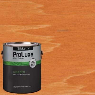 SIKKENS PROLUXE CETOL SRD 089 REDWOOD EXTERIOR STAIN GALLON