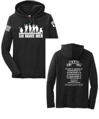 Six Brave Men Hooded T shirt (SNS0068a)