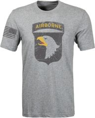 101st Airborne - Distressed T-shirt (0078)