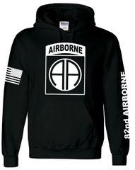 82nd Airborne Hoodie (0020)