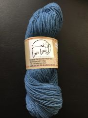 Natural Indigo Dyed Sport Weight Rambouillet Wool Yarn