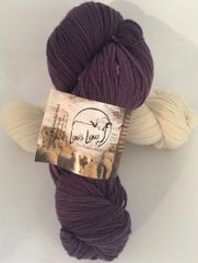 "Natural Dyed Rambouillet Yarn- ""Camas"" 4 Weights"