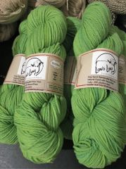 Saxon/Weld Natural Dyed Sport Weight Wool Yarn - 4 oz skein