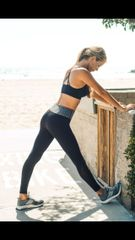Grey Band Yoga Legging