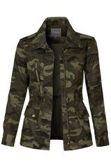 Camo Military Jacket