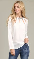 Embellished Beaded Dressy Top
