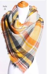 Perfect Fall Palette Blanket Scarf