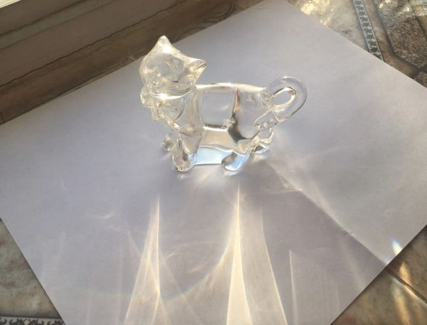LENOX Collection Full Lead Crystal Cat