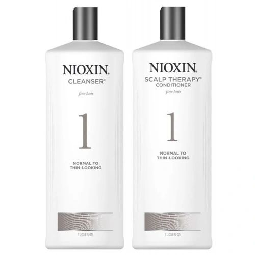 NIOXIN CLEANSER & SCALP THERAPY LITER DUOS