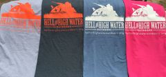Short Sleeve Hell or High Water Outdoors T-Shirt with Logo XXL