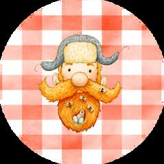 Little Lumberjack Stickers