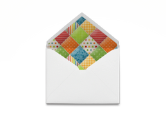 Barnyard Patch Envelope